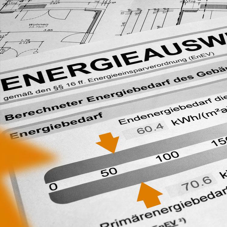 Energieausweis Bild